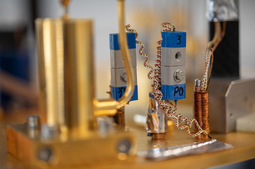 Quantum circuitry system - image credit Oxford Quantum Circuits