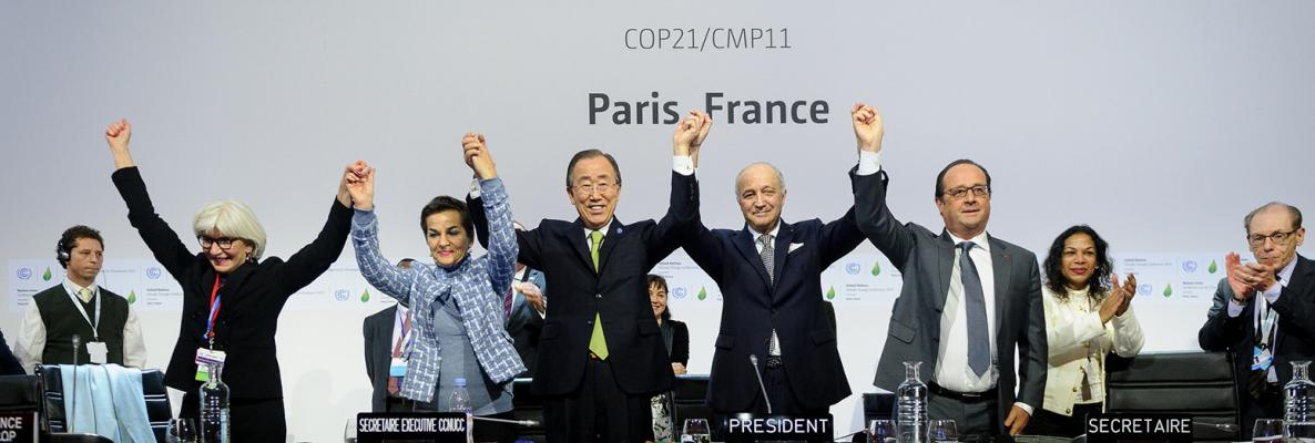 Paris agreement adopted