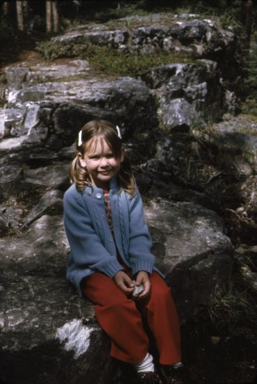 Melinda Mills, not looking very disruptive in the Canadian mountains.