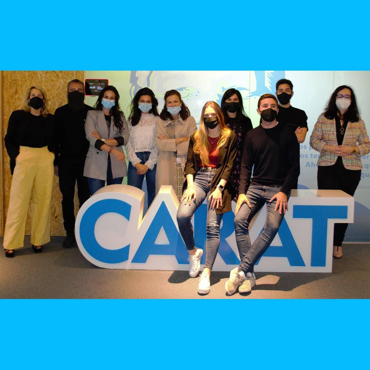 CARAT y SCOPEN presentan a la pareja ganadora de la competición española de los Young Lions Media 2020-21