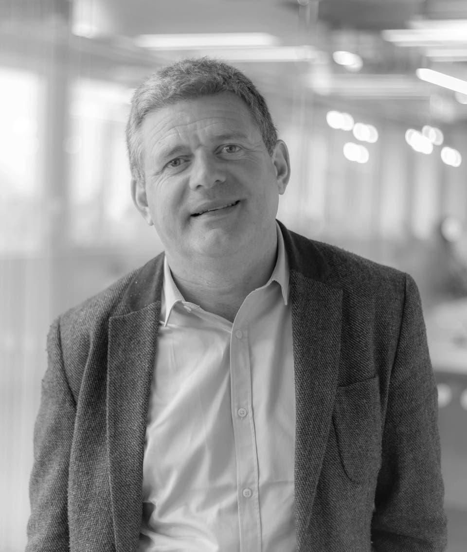 Ciaran Cunningham, CEO, Carat, dentsu, Ireland
