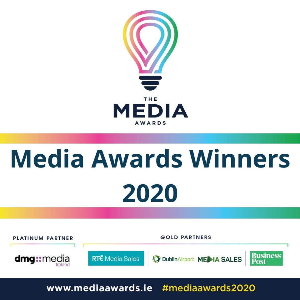 Media award 2020 winners