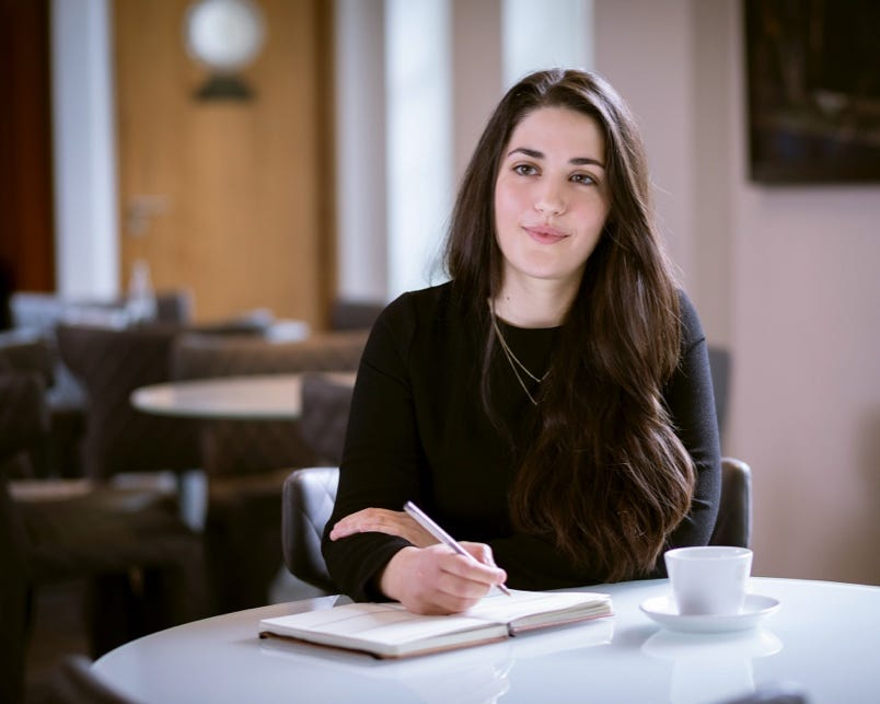 Marianna Papadogiannaki, Designer, HC Group - London office