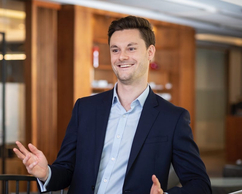 Joshua Clayton, HC Group Senior Associate, London
