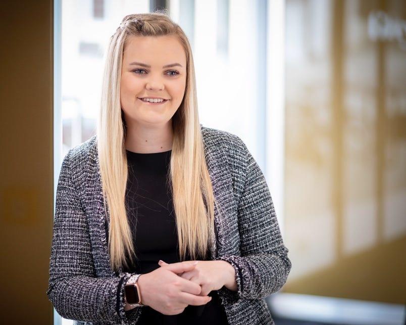 Danni Saltmarsh, Assistant Management Accountant, London HC Group