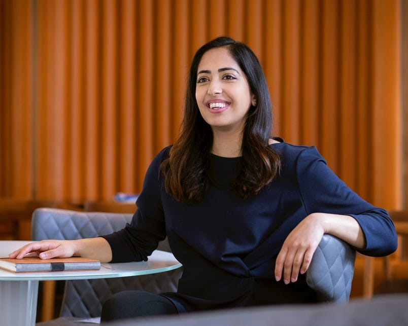Dina Patel, Content Manager, HC Group London office