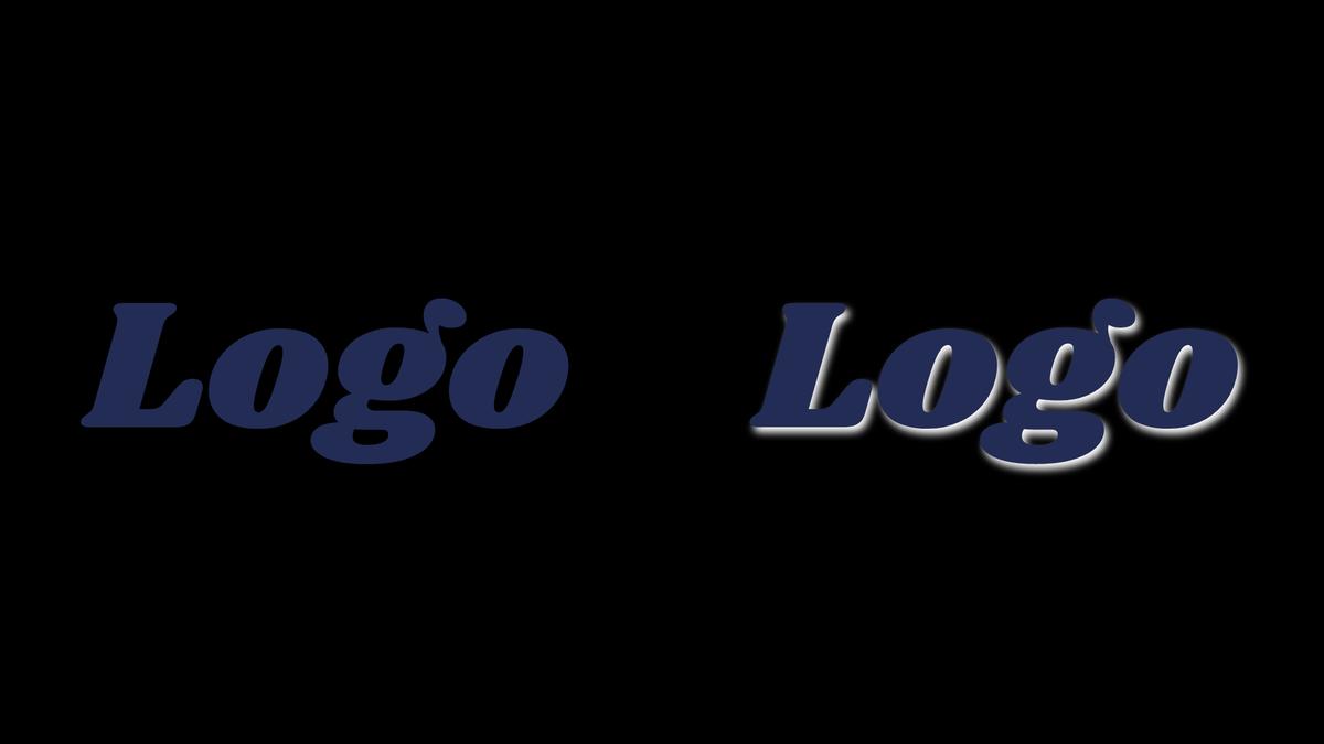 Optimise your logo for dark mode