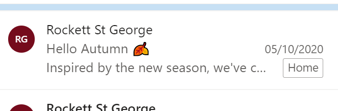 Emojis in subject line example