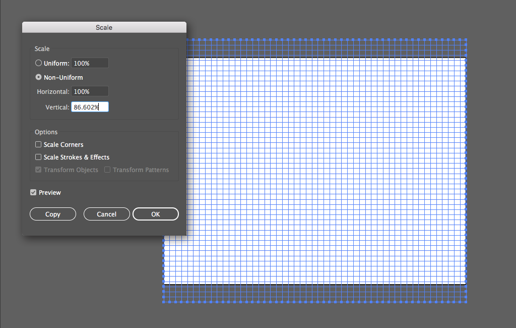 Step 4 Isometric Grid
