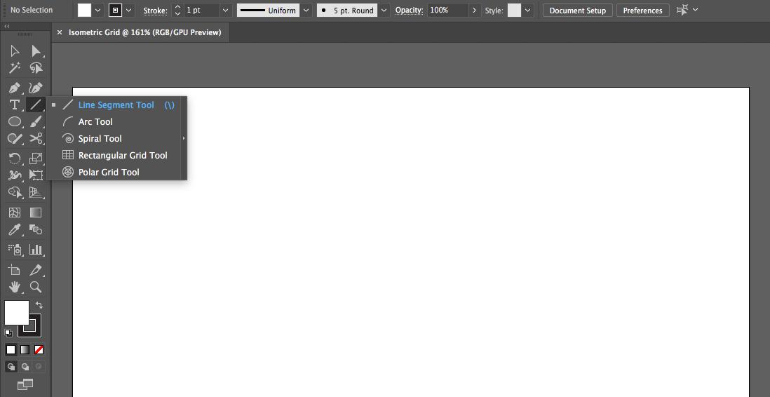 Step 2 to Create Isometric Grid Image