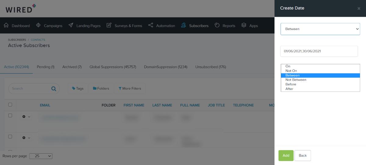 listing page updates - easier filter management