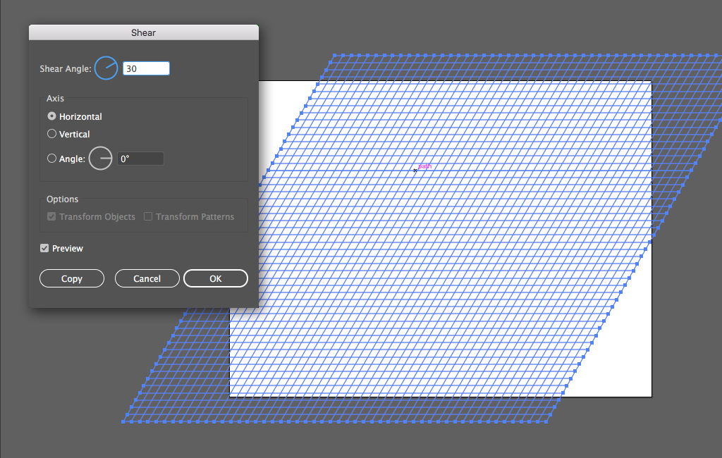 Step 5 Isometric Grid
