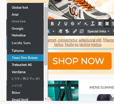 Web-safe fonts