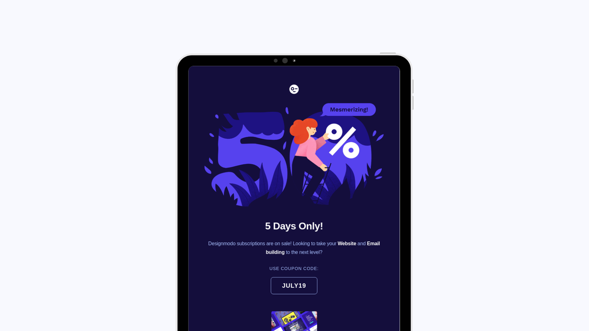 Design your email for dark mode