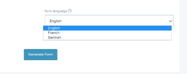 Form language