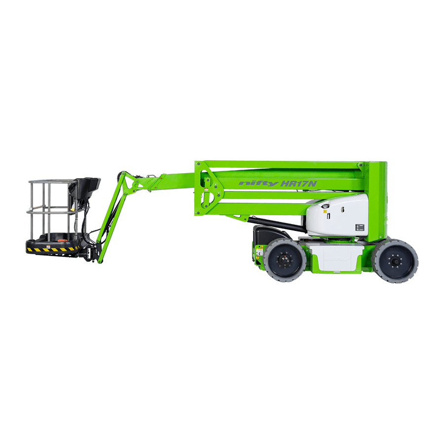 15m Bi-Fuel Boom Lift - Niftylift HR17N