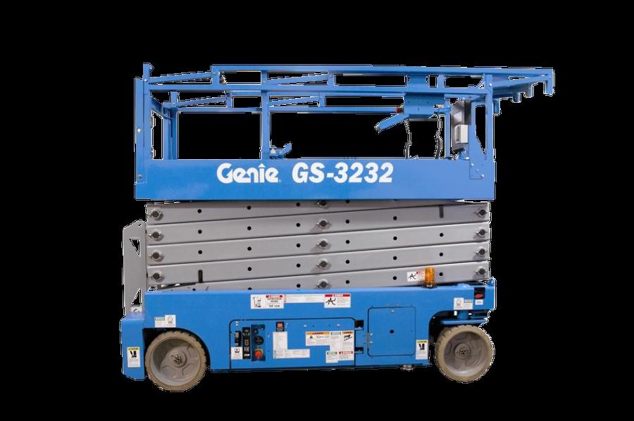 9.75m Battery Scissor Lift - Genie GS3232