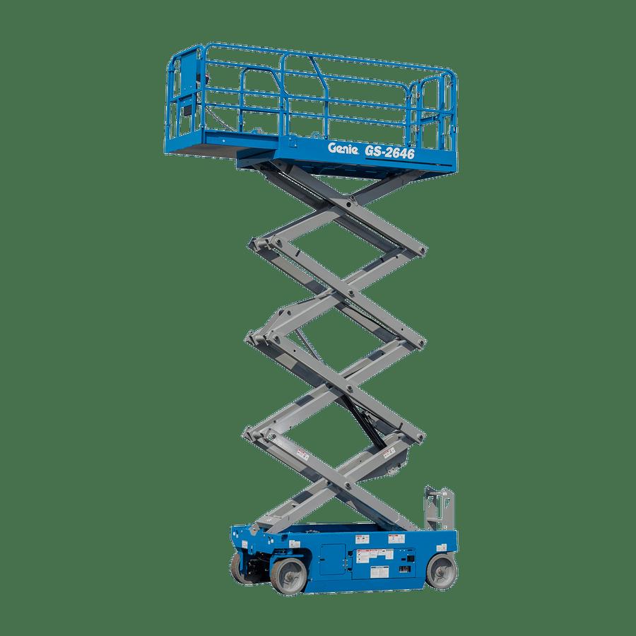 7.92m Battery Scissor Lift - Genie GS2646