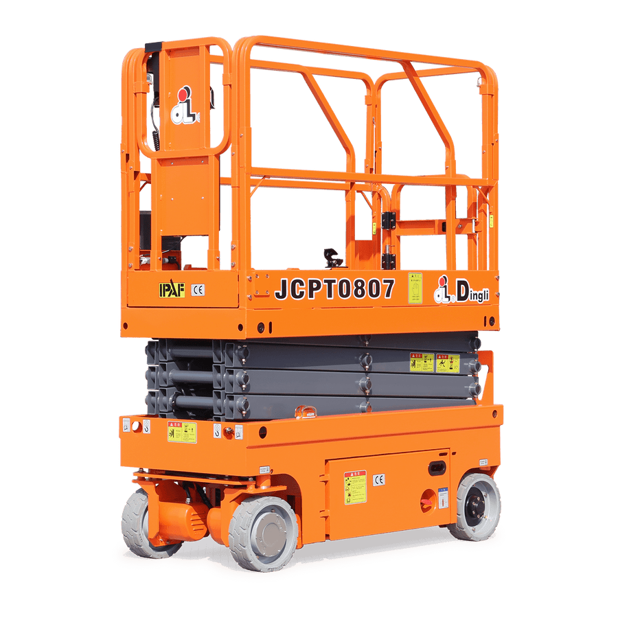 5.8m Battery Scissor Lift - Dingli JCPT0807DCS