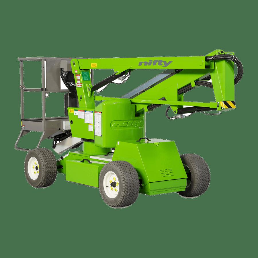 10.2m Bi-Fuel Boom Lift - Niftylift HR12