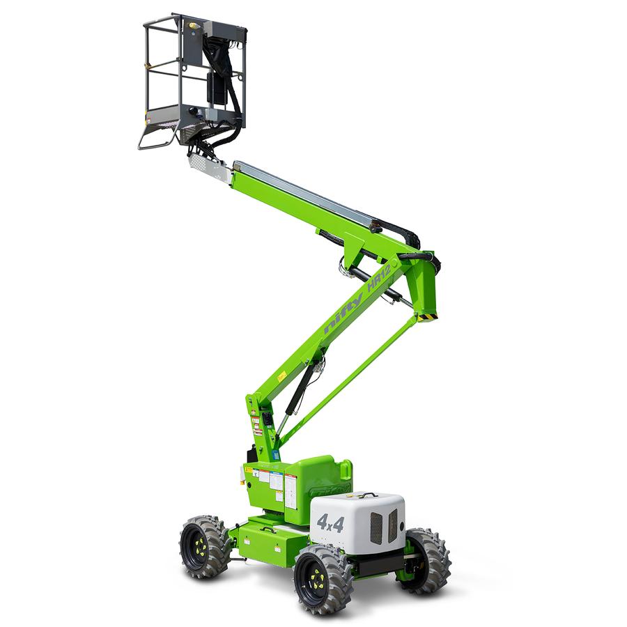 10.2m Bi-Fuel Boom Lift - Niftylift HR12 4x4