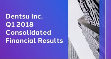 Dentsu Inc. Q1 2018 Consolidated Financial Results