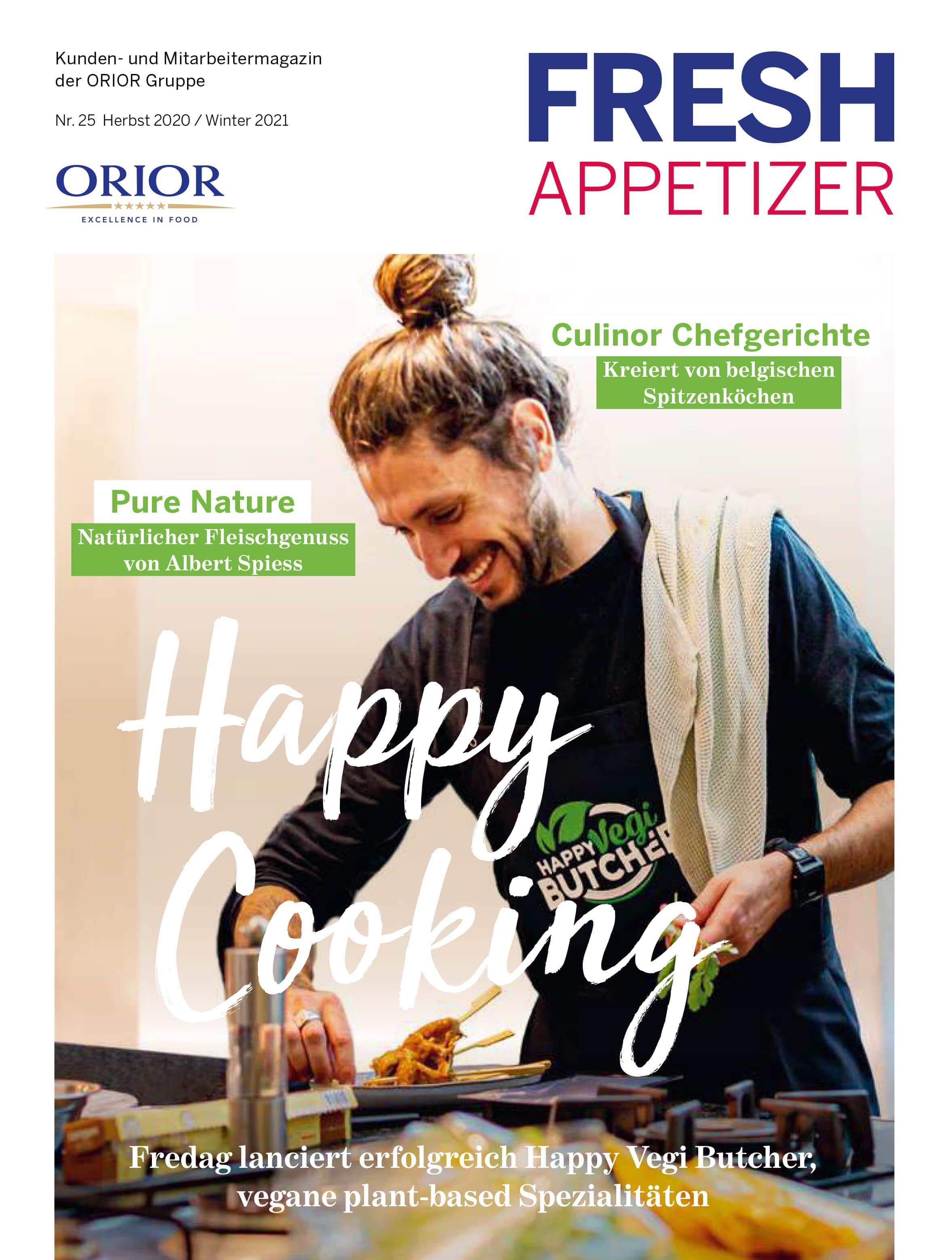 Food-Inspiration mit dem Fresh Appetizer