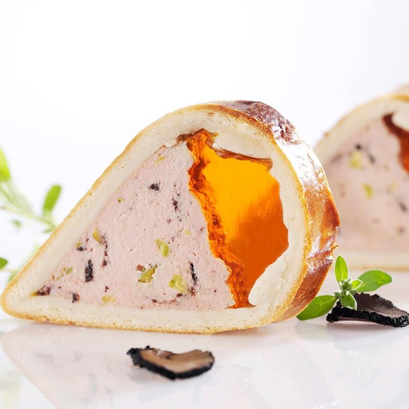 Dreieck Trüffel-Pastete