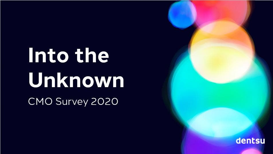 CMO Survey 2020 | Into the Unknown