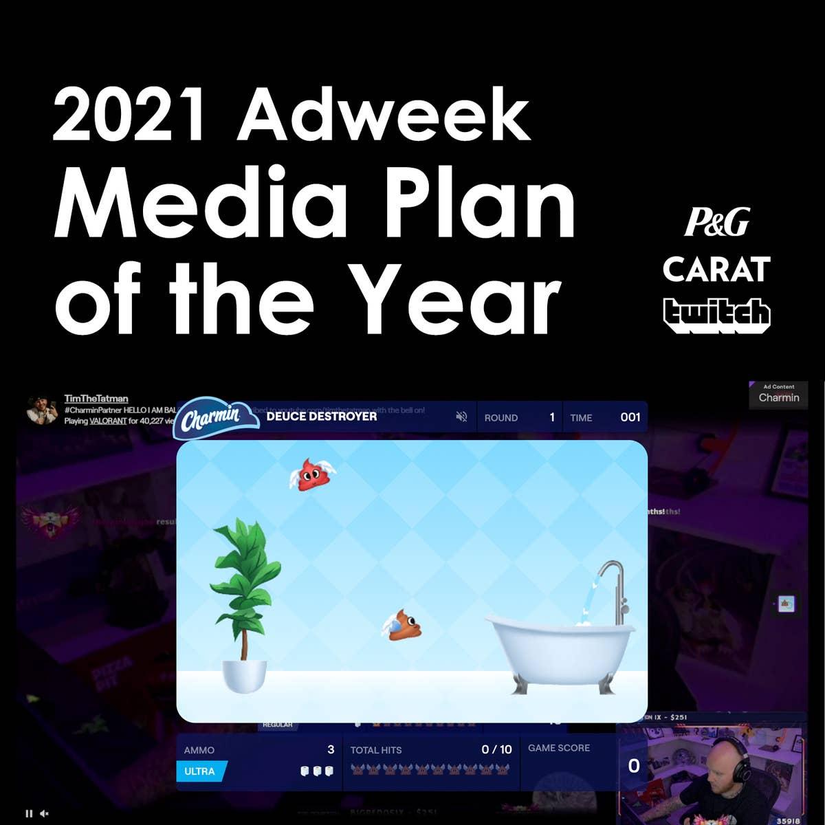 Charmin's Deuce Destroyer named Adweek Media Plan of the Year