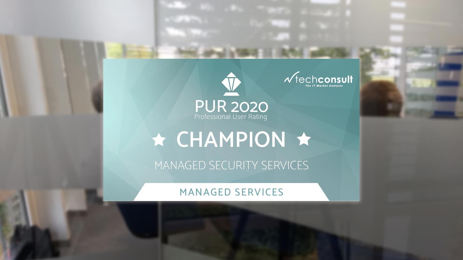 PUR 2020 Champion Managed Security Services