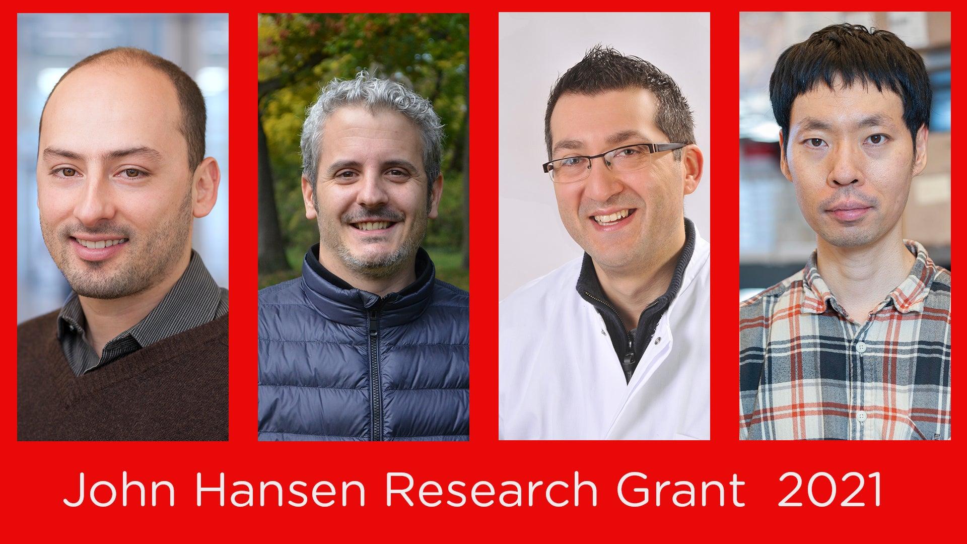 John Hansen Research Grant Awardess 2021