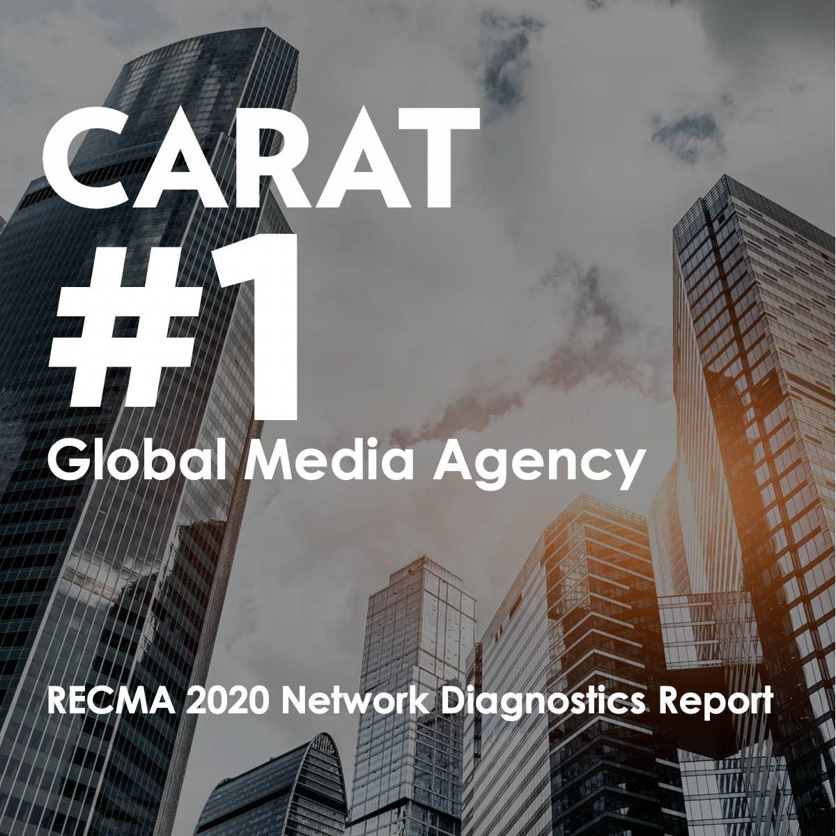 Carat Retains #1 Position in RECMA