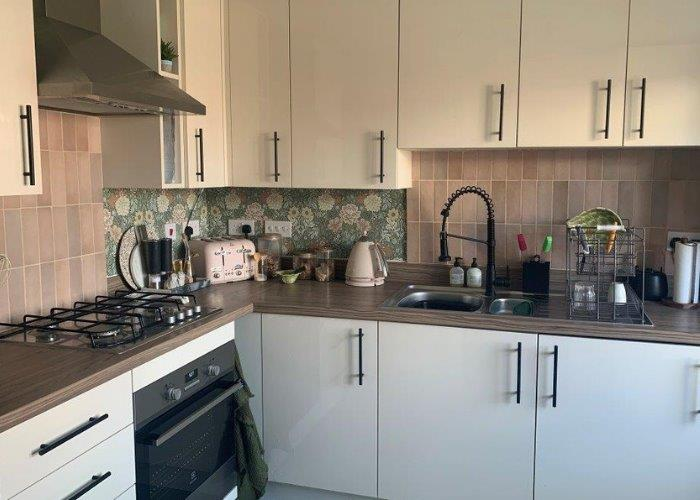 A shared owners kitchen
