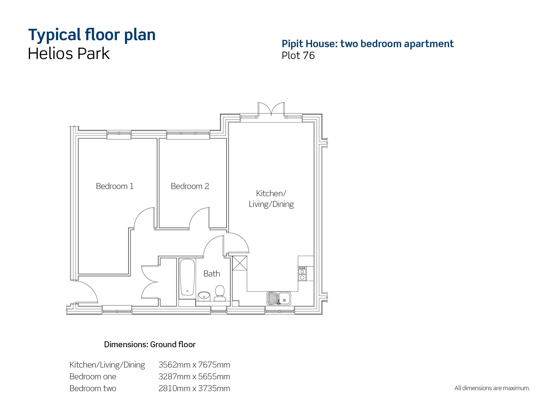 Helios Park plot 76 floor plan