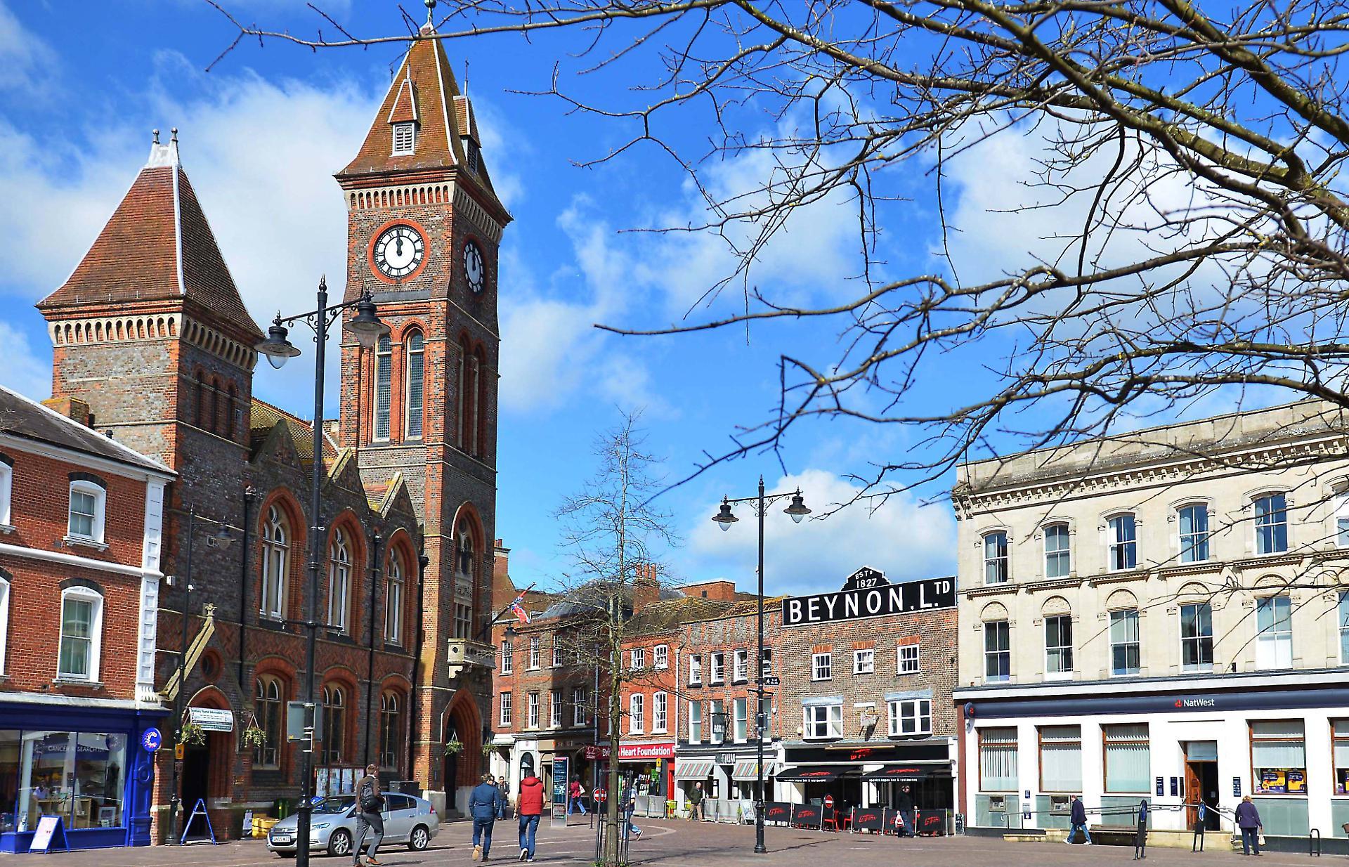 Image of Newbury market place