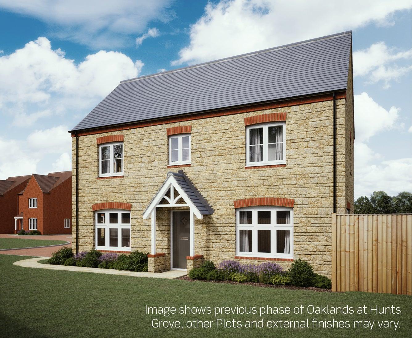 Exterior CGI of the Quedgley house type