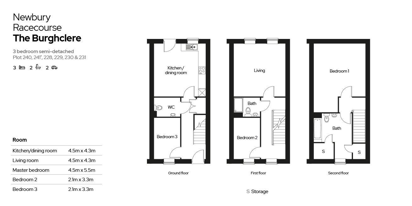 Floorplan of 'The Burghclere'