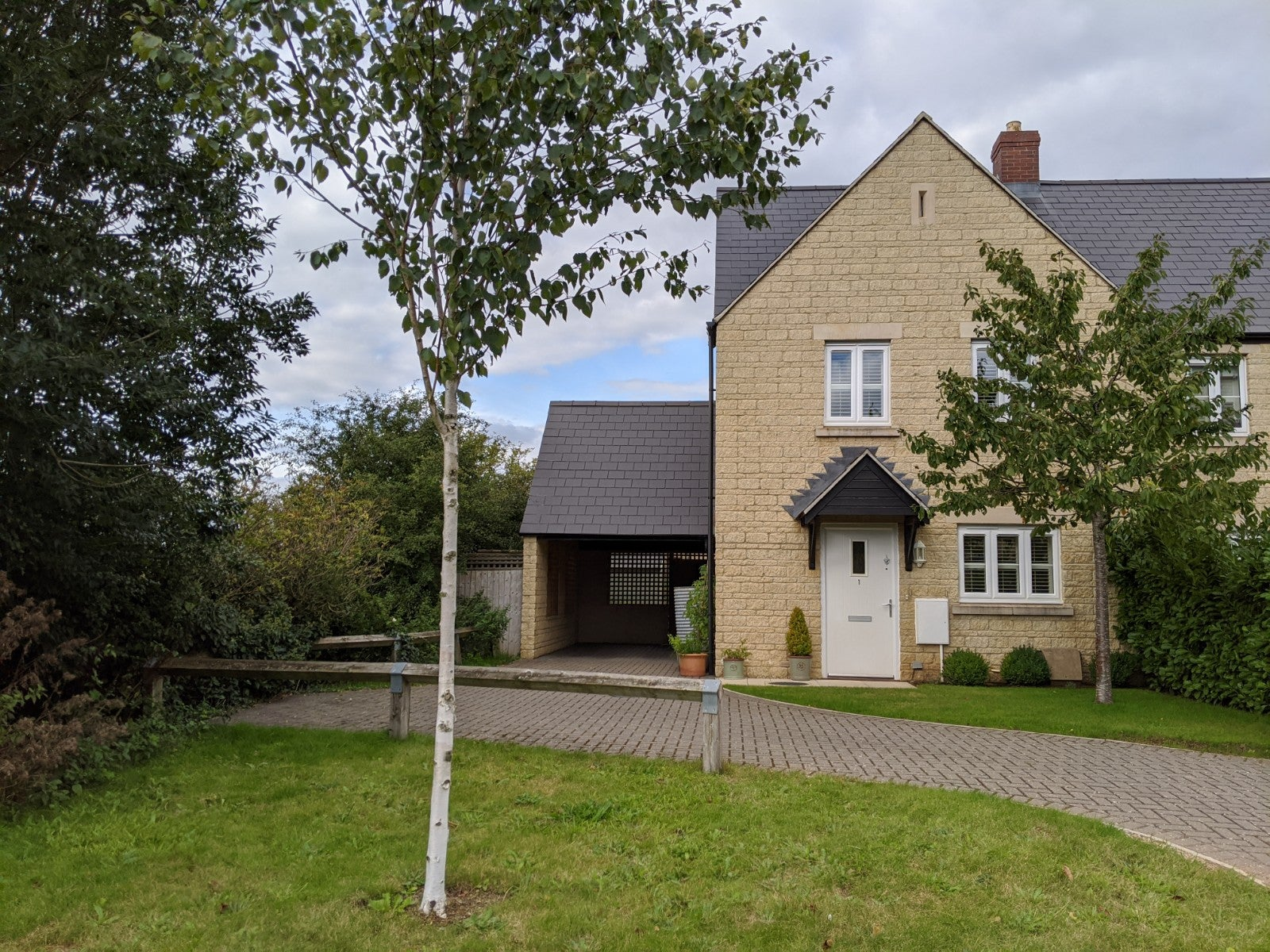 1 Coneygar Fields, Steeple Aston - Front of property