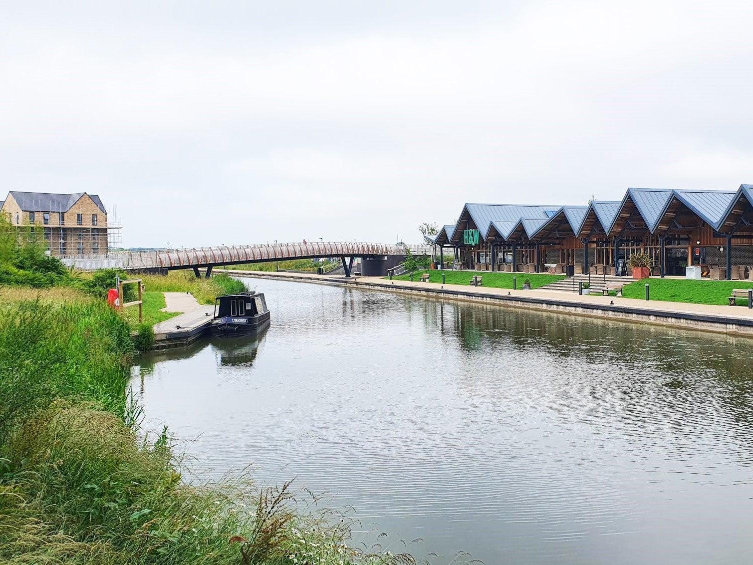 Canalside development location