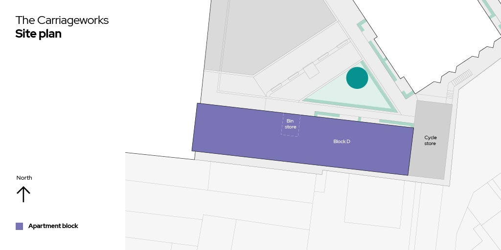 The Carriageworks site plan
