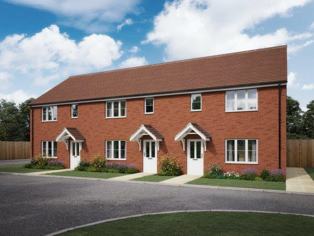CGI depicts homes at Hatchwood Mill