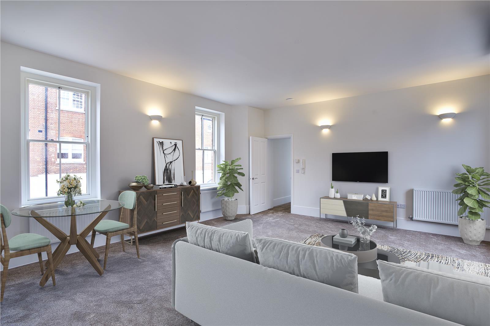 Fair Mile at Cholsey Meadows - Living room interior