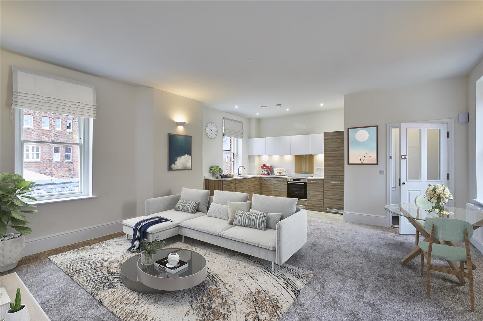 Fair Mile at Cholsey Meadows - Living/kitchen/dining interior