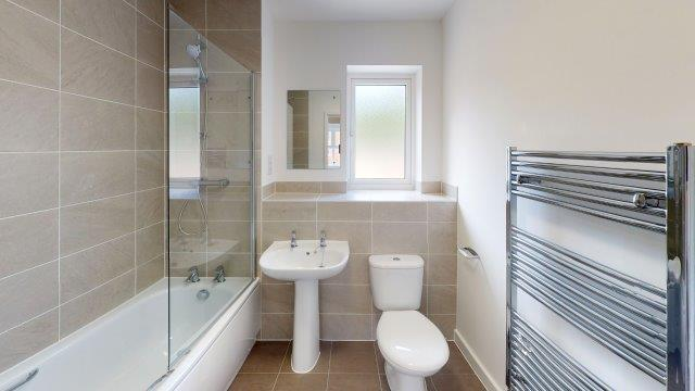 Image of bathroom at Helios Park apartment