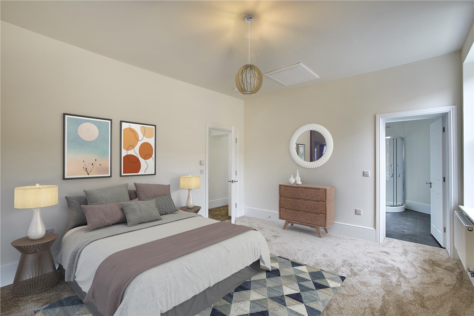 Fair Mile at Cholsey Meadows - bedroom interior
