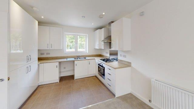 Image of Kitchen at Helios Park apartments