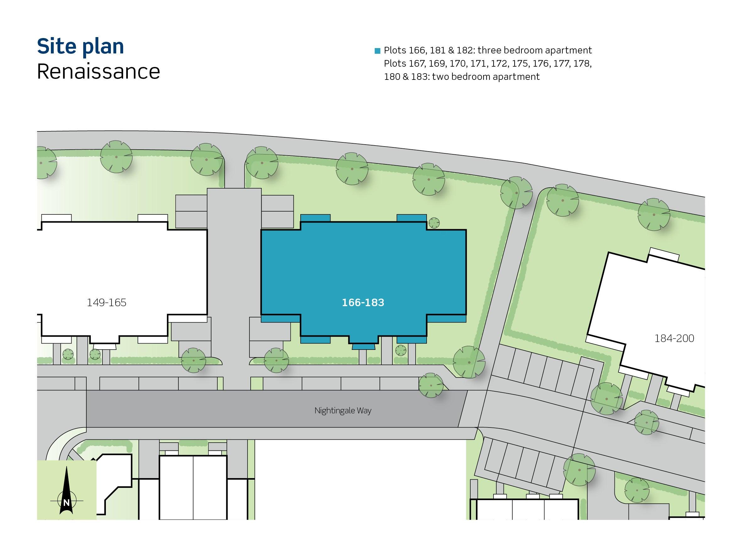 Plot 181 & 182 Renaissance Site Plan
