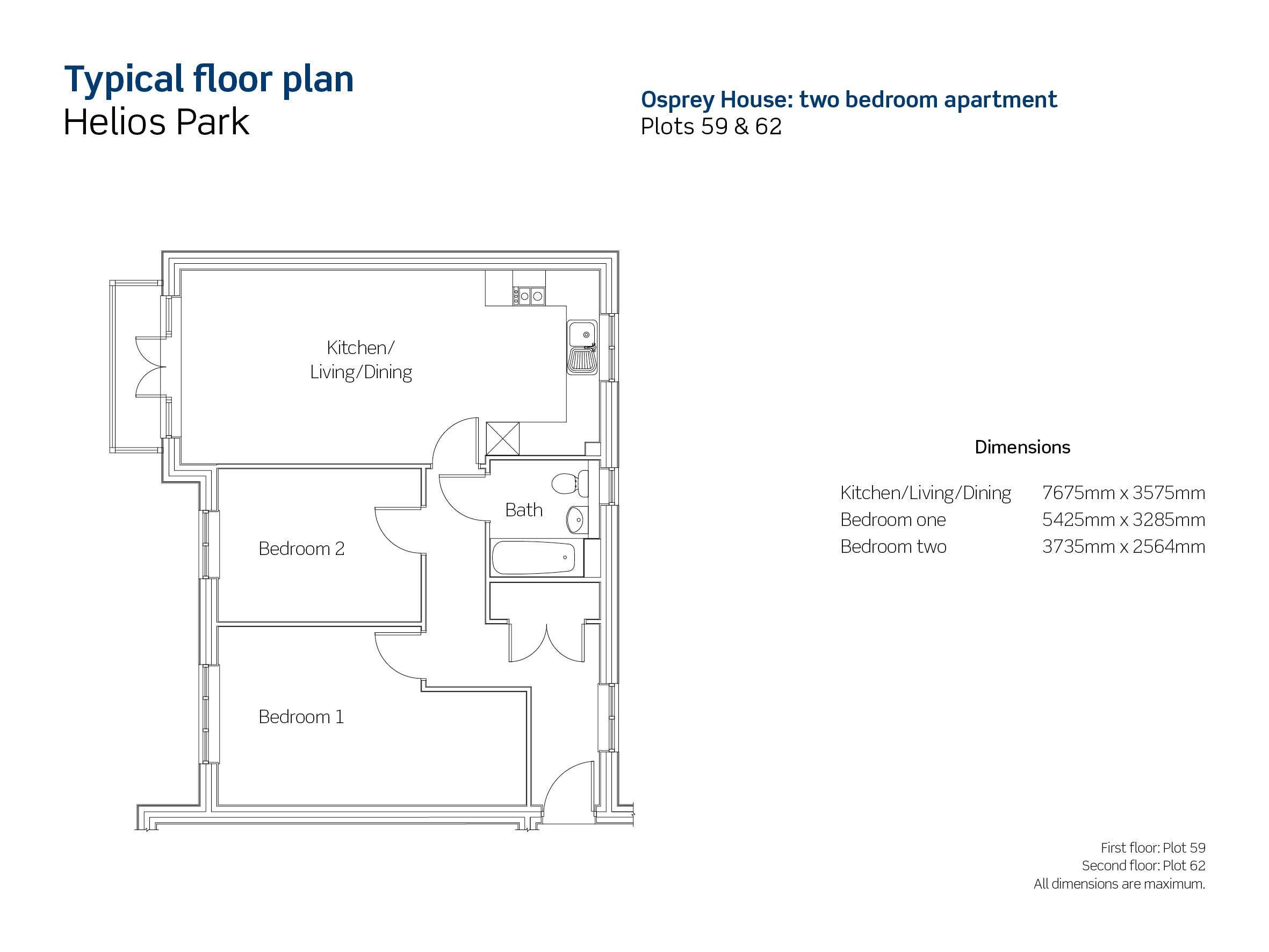 Helios Park plot 59 floor plan
