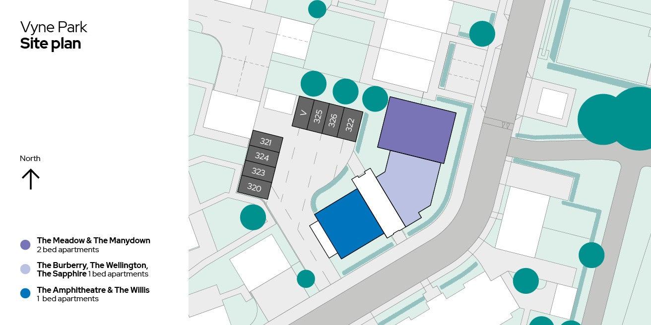 Vyne Park Apartments Sitemap